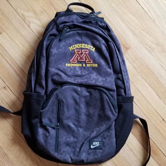 19aab7702b22 Unique University of Minnesota Swim Backpack. M 5b316924c9bf50eff5197c8f